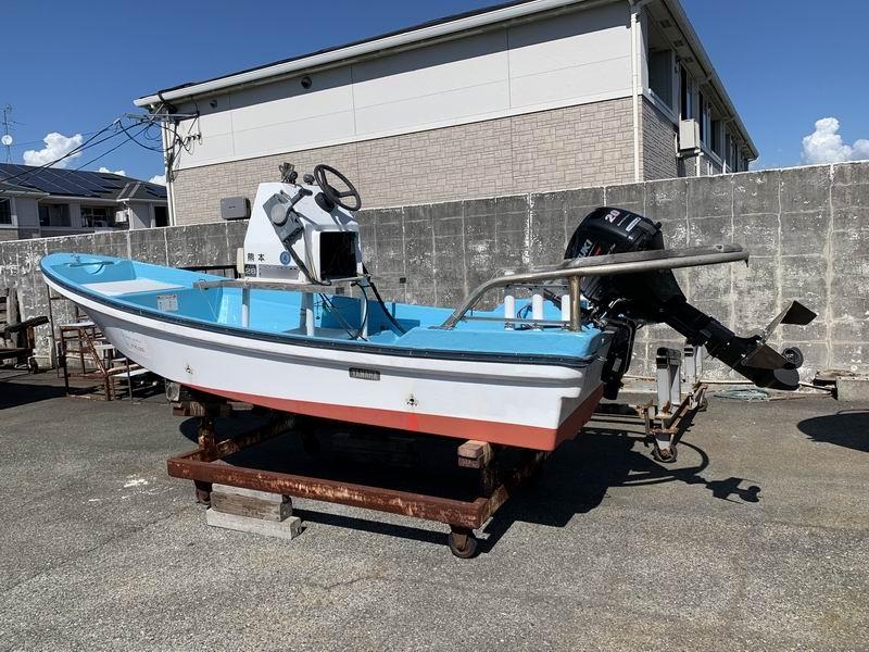 ヤマハ 和船W14