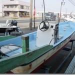 中古艇情報83「ヤマハ和船W19」