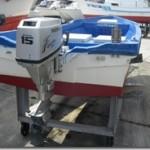 中古艇情報108「アキプラ15FT和船」