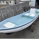 中古艇情報230「ヤマハ和船 W19」